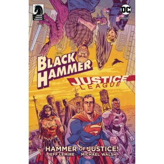 Black Hammer Justice League Hammer Of Justice #1