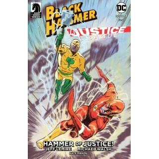 Black Hammer Justice League Hammer Of Justice #3