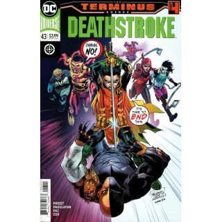 Deathstroke Vol 4 #43 (Terminus Agenda Part 4)