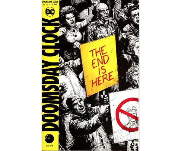 Doomsday Clock #1 Cover K Final Ptg