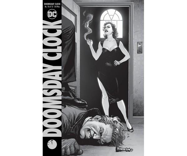 Doomsday Clock #10 Cover A
