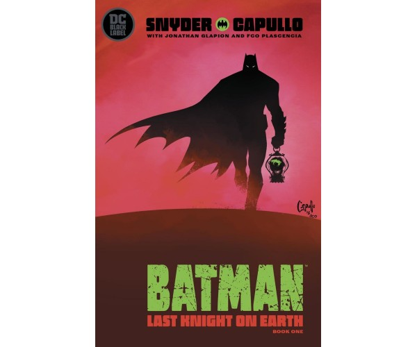Batman Last Knight On Earth #1 Cover A