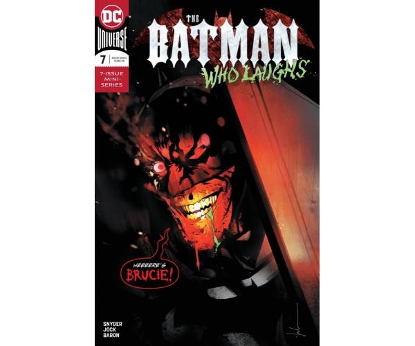 Batman Who Laughs #7 Cover A