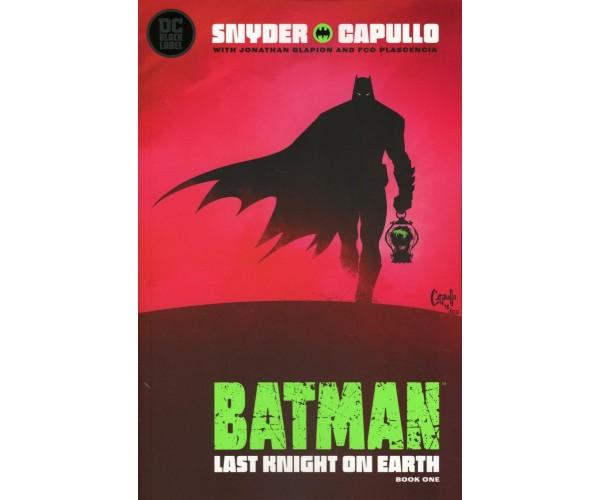 Batman Last Knight On Earth #1 Cover E