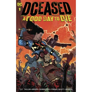 DCeased A Good Day To Die #1 Cover A