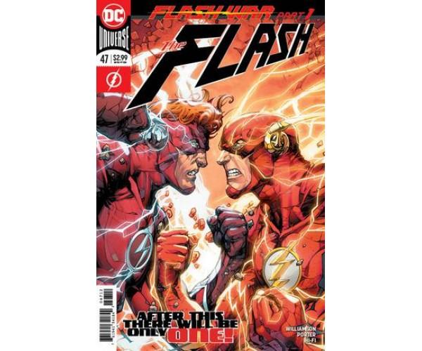 "Flash Vol 5 #47  ""FLASH WAR"""