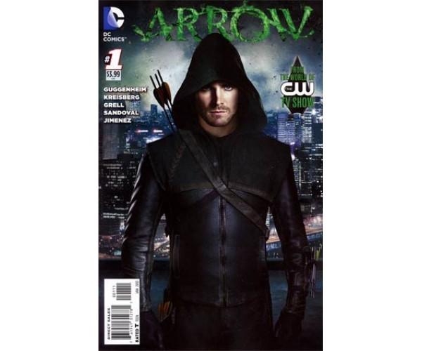 Arrow #1 Regular Photo Cover