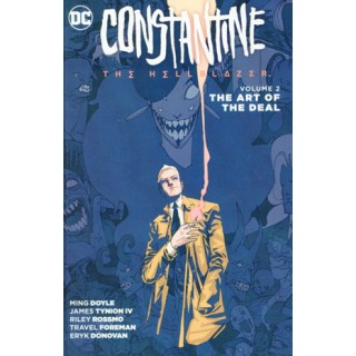 Constantine The Hellblazer Vol 2 The Art Of The Deal TP