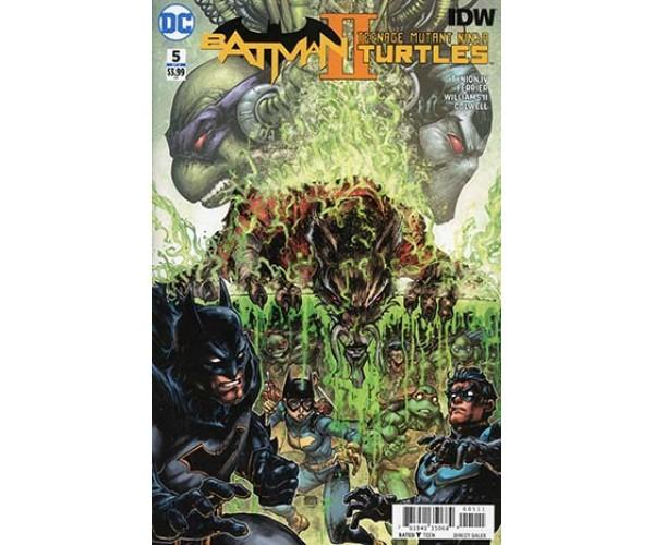 Batman Teenage Mutant Ninja Turtles II #5