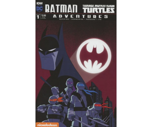 Batman Teenage Mutant Ninja Turtles Adventures #1