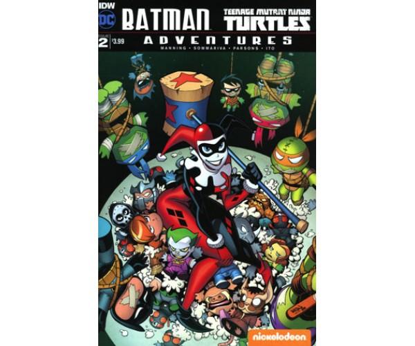 Batman Teenage Mutant Ninja Turtles Adventures #2