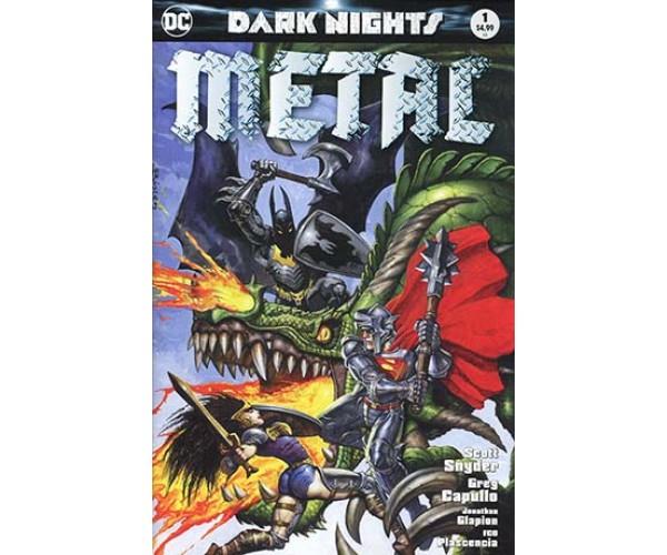Dark Nights Metal #1 Midtown Exclusive
