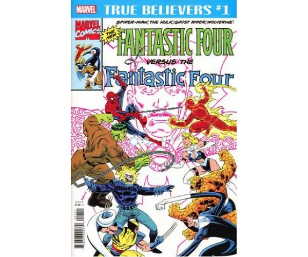 True Believers New Fantastic Four #1