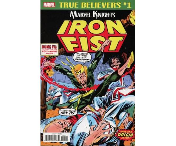 Iron Fist By Roy Thomas & Gil Kane #1