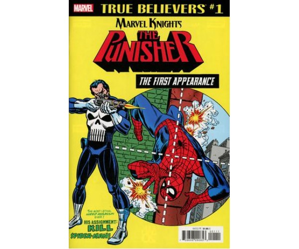 Punisher First Appearance #1