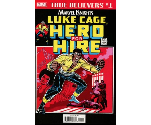 Luke Cage Hero For Hire #1