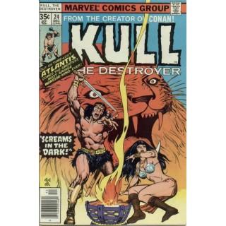 Kull the Destroyer Vol 1 #24