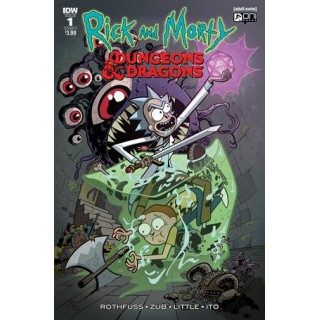 Rick And Morty vs Dungeons & Dragons #1