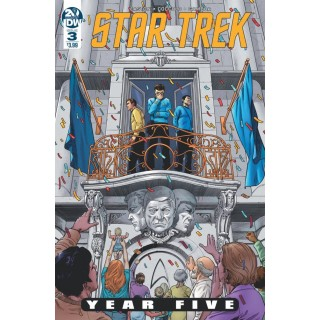 STAR TREK YEAR FIVE #3