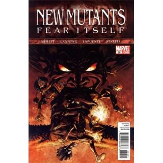 New Mutants Vol 3 #30 (Fear Itself Tie-In)