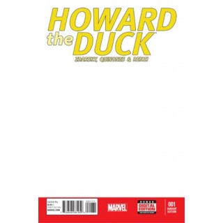 Howard The Duck Vol 4 #1 Blank Cover