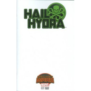 Hail Hydra #1 Cover B Variant Blank Cover