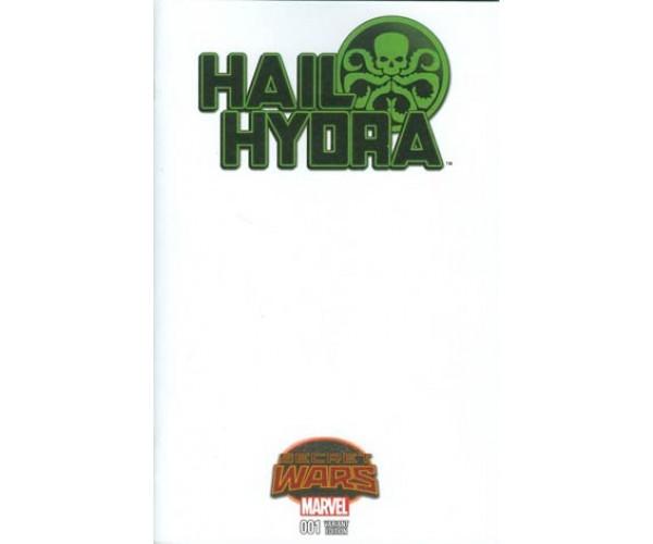 Hail Hydra #1 Cover B Variant Blank Cover