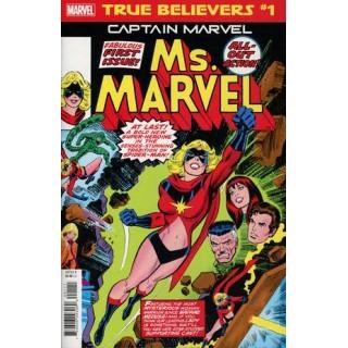 True Believers Captain Marvel Ms Marvel #1
