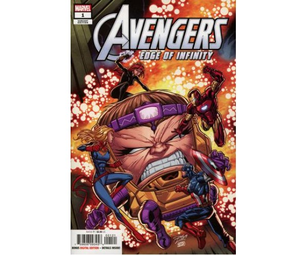 Avengers Edge Of Infinity #1 Cover B Variant Ron Lim Cover