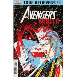 True Believers Avengers Nebula #1