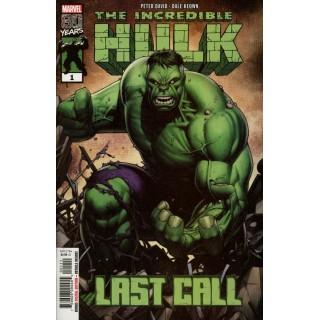 Incredible Hulk Last Call #1