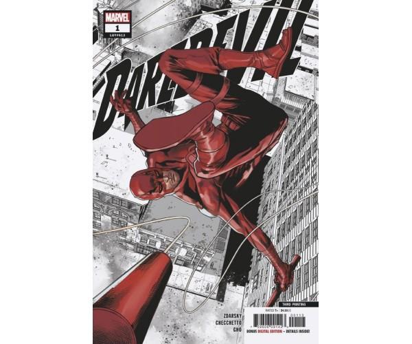 Daredevil Vol 6 #1 3rd Ptg