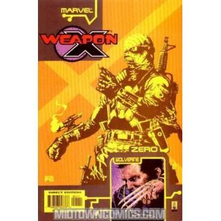 Weapon X The Draft Zero #1