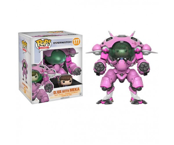 Фігурка Funko D.VA with Meka 6""