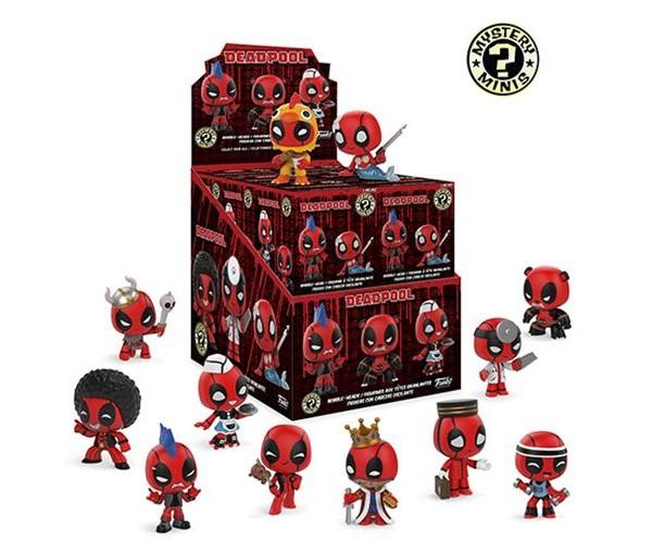 Mystery minis Deadpool