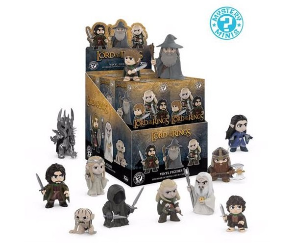 Mystery minis The Lord of the Rings