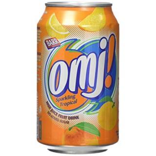 OMJ! Tropical Sparkling Fruit Juice