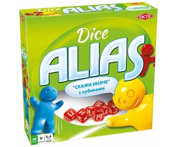 Настільна гра Аліас з кубиками