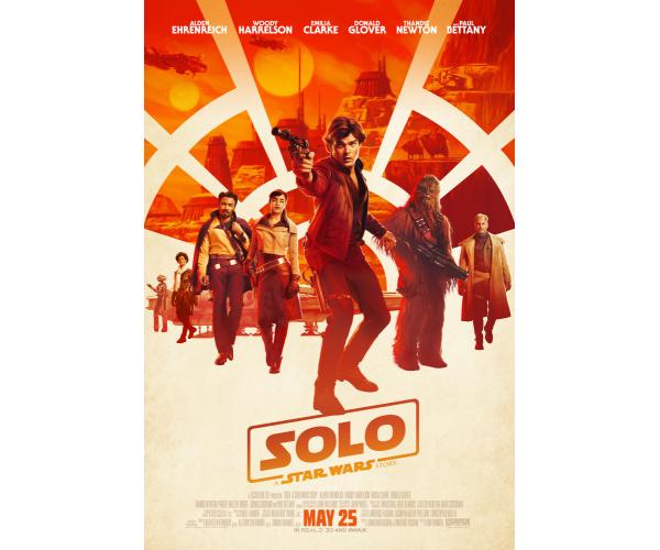 Постер  Соло (Зоряні Війни)