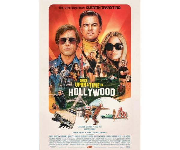 Постер Одного разу в Голлівуді