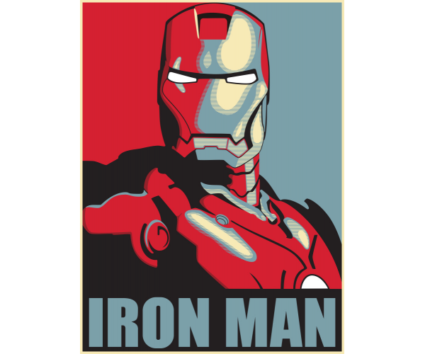 Постер  Залізна Людина
