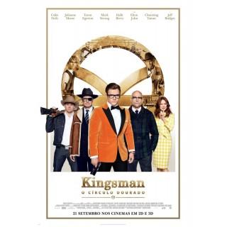 Постер Кінгсман: Золоте Кільце