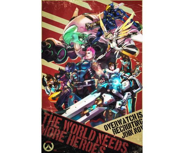 Постер Overwatch
