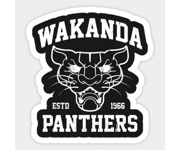 Стікер Wakanda Panthers