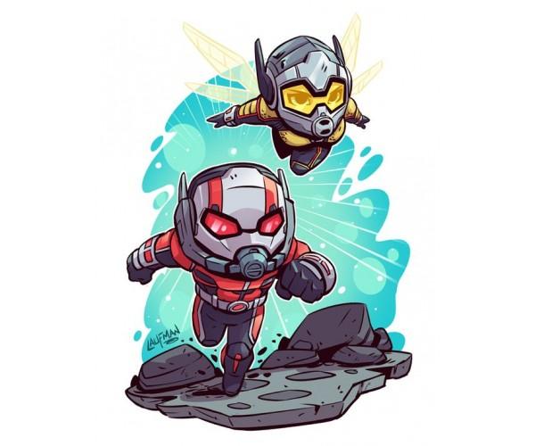 Стікер  Людина мураха і Оса