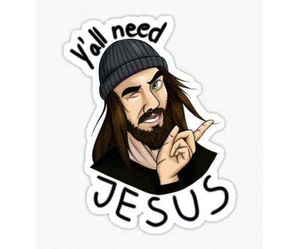 Стікер Jesus