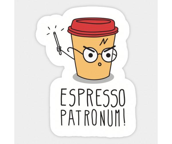 Стікер  Espresso Patronum