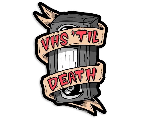 Стікер  VHS